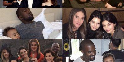 Kris Jenner celebró a todos los padres de su familia: Rob Kardashian, Kanye West, Lamar Odom, Bruce Jenner y Scott Disick. Foto:Instgram @krisjenenr