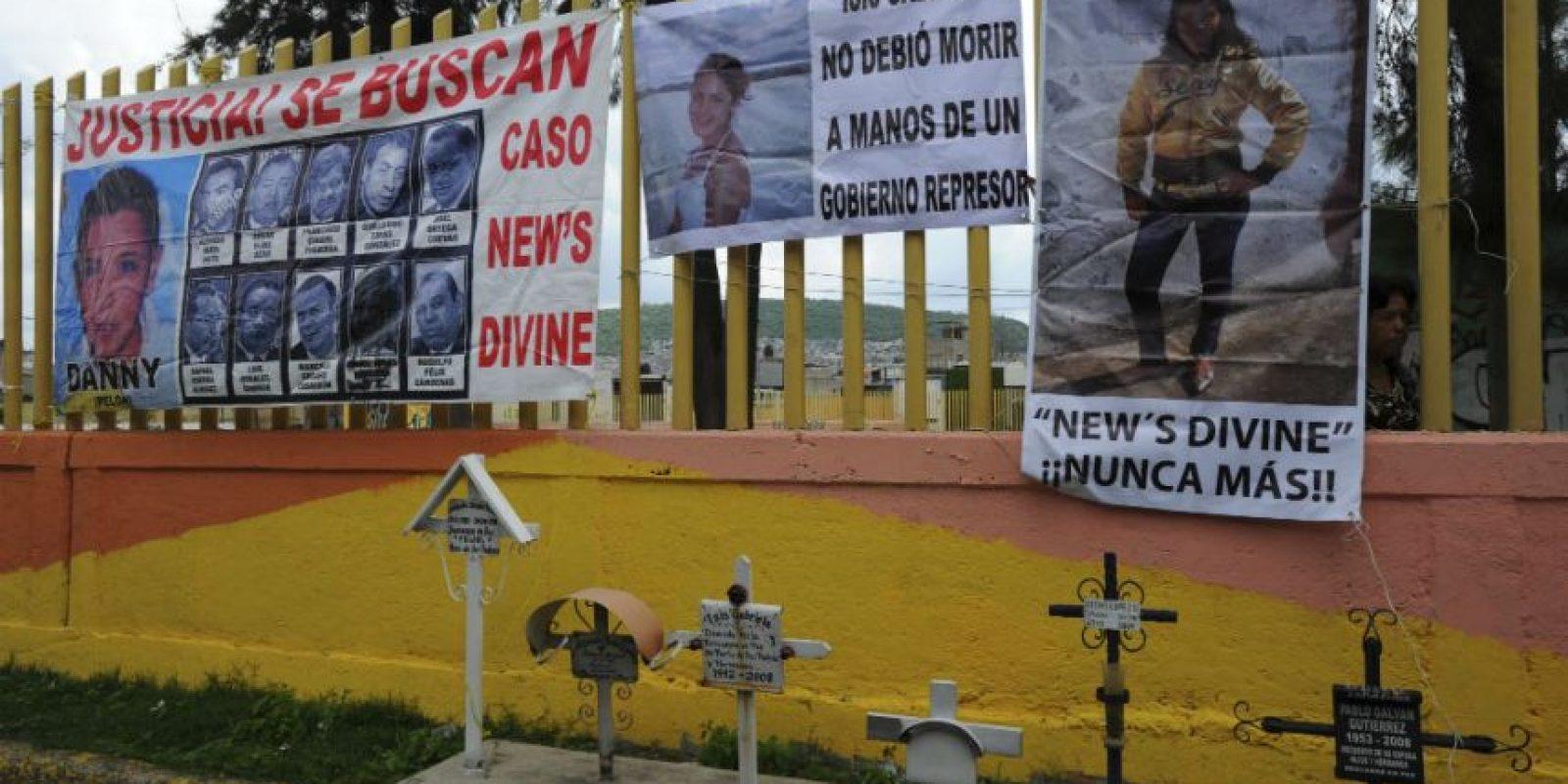 Nueve jóvenes fallecieron en el bar New's Divine. Foto: ARMANO MONROY /CUARTOSCURO