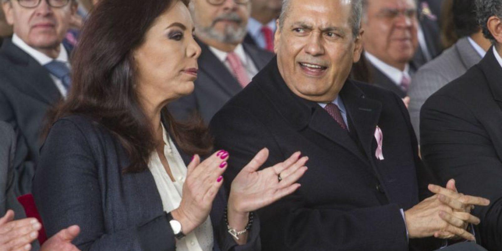 La Secretaria General del CEN del tricolor, Carolina Monroy sería la sucesora más viable. Foto:Cuartoscuro