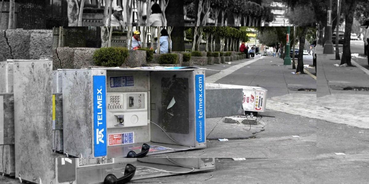Casetas telefónicas, un negocio nada rentable; puntos WiFi, la opción