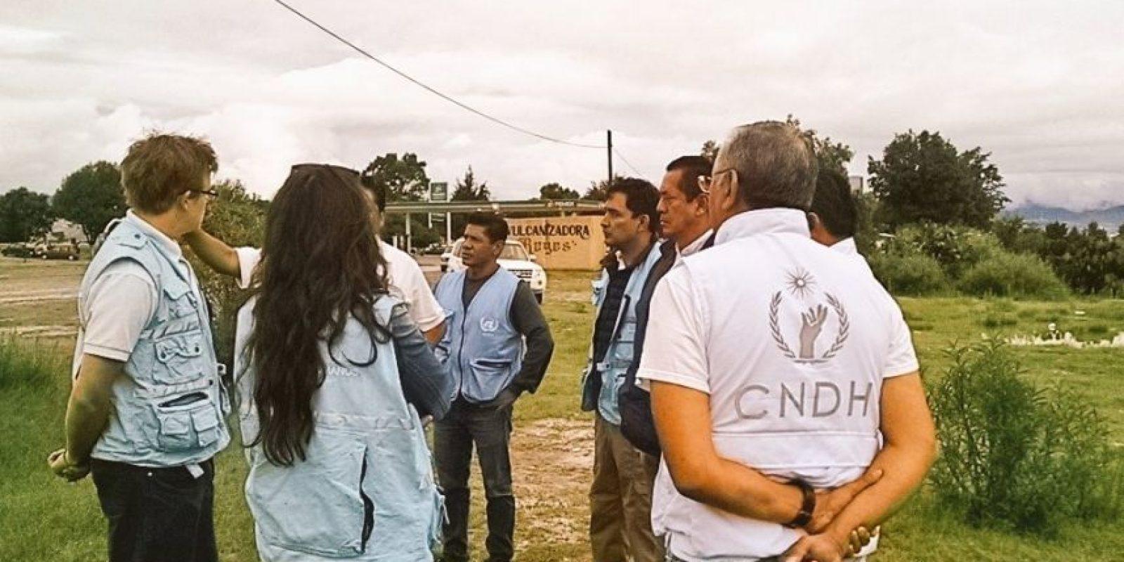 Sostendrán reuniones con autoridades, víctimas y actores relevantes en los hechos Foto:@ONUDHmexico