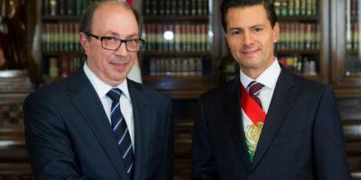 Ara Aivazian embajador en México de la República de Armenia. Foto:Notimex