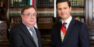 Daniel Chuburu nuevo representante diplomático de Argentina en México. Foto:Notimex