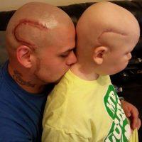Gabriel Marshall se recupera de cáncer Foto:Facebook: Josh J-Mash Marshall
