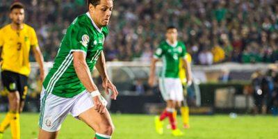 Javier Hernández anotó un gol en la Copa América Centenario. Foto:Getty Images