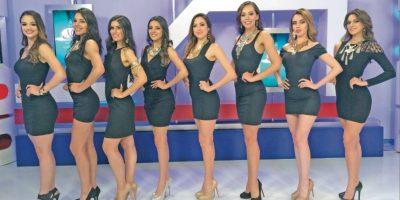 Este año serán ocho chicas las que competirán por la corona de belleza Foto:Daniela Pérez