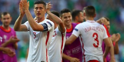 Luego de vencer por la mínima a Irlanda del Norte y empatar con Alemania, los polacos son segundos por diferencia de goles Foto:Getty Images