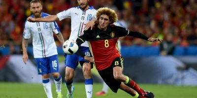 Los tres belgas exóticos: Marouane Fellaini Foto: Getty Images