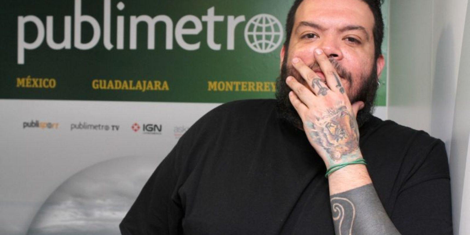 Pato Machete Foto:Nicolás Corte – Publimetro