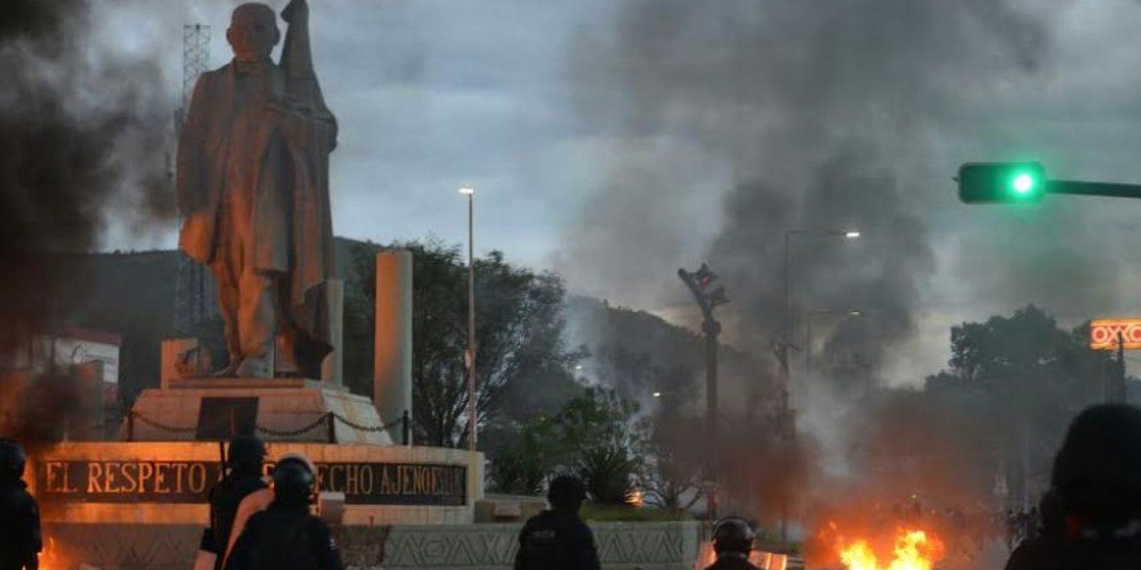 El objetivo era garantizar la libre circulación. Foto:Darío Nolasco / ADN Sureste