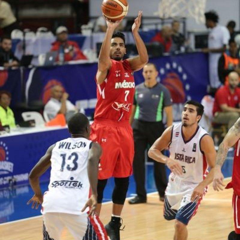 México vuelve a gana en el Centrobasket Foto:FIBA