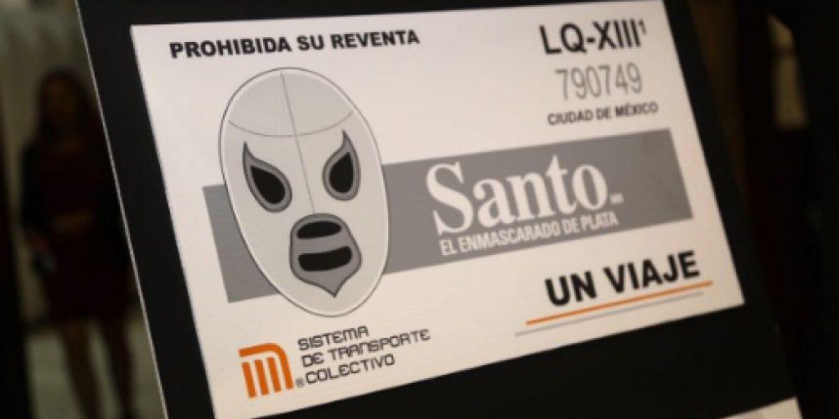 Homenaje enmascarado; el boleto del Metro llevará la máscara de El Santo