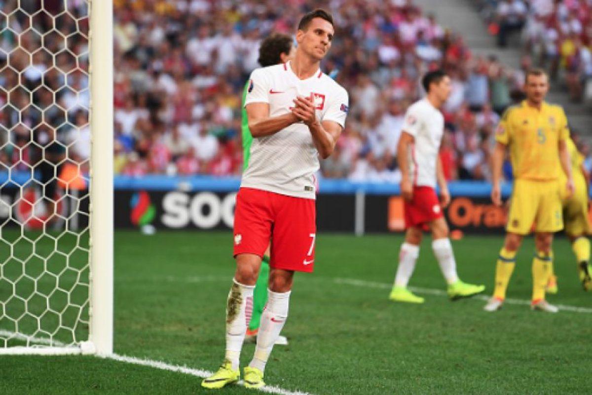 Polonia avanza a Octavos de Final de la Euro Foto:Getty Images