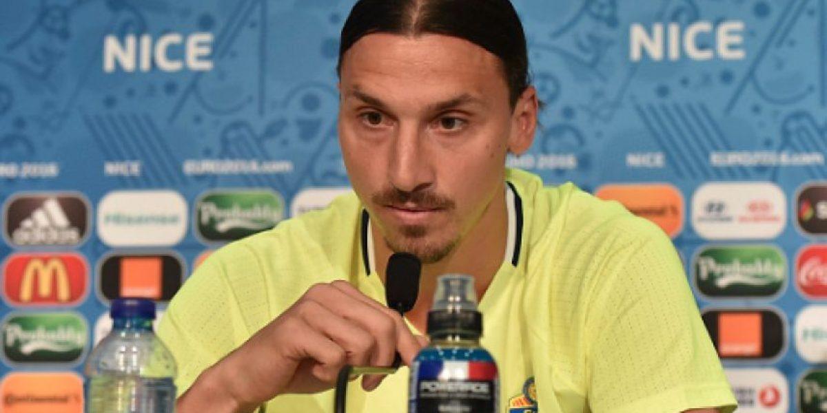 Ibrahimovic anuncia que se va de la Selección sueca
