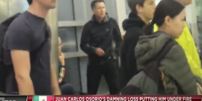 Discusión entre Juan Carlos Osorio y Santiago Baños Foto:Bein Sports