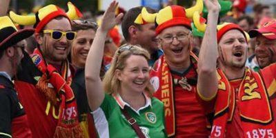 Después de perder con Bélgica se unieron a la fiesta de los belgas porque siempre es bueno festejar Foto:9gag