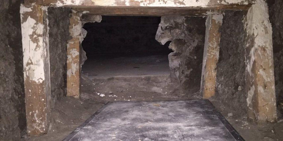 Encuentran túnel clandestino en predio de la Condesa