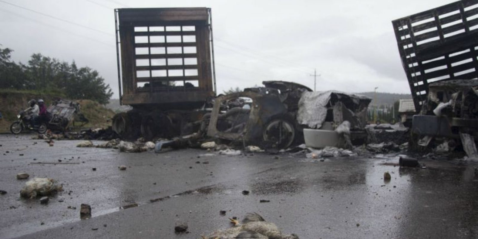 Hasta ahora se han confirmado 8 muertos tras el operativo de desbloqueo del domingo. Foto:Cuartoscuro