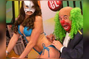 """Brozo y """"La Reata"""" Foto:Televisa"""