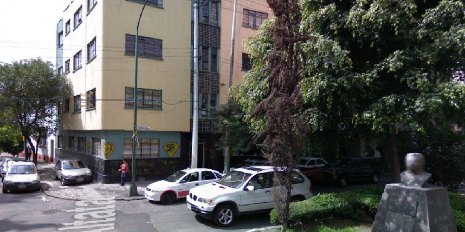 Primero lució la leyenda de SB, que quiere decir Súper Barrio. Octubre 2008 Foto:Google Maps