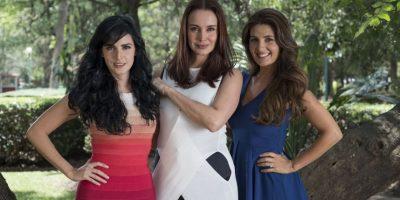 Alejandra Barros, Mayrín Villanueva y Ximena Herrera Foto:Televisa