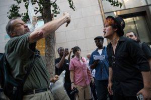 Hubo algunos enfrentamientos verbales Foto:Getty Images