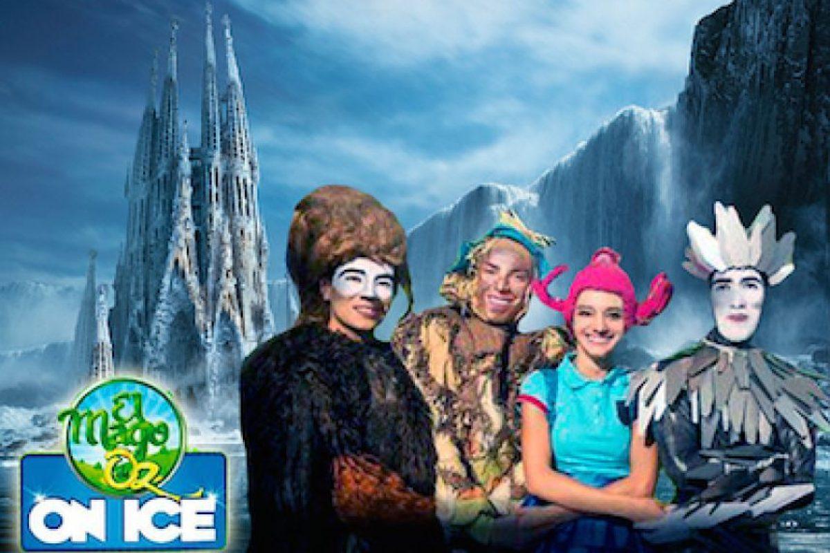 """Foto:Cortesía """"El Mago de Oz On Ice"""""""