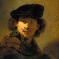 Rembrandt, en el siglo XVII. Foto:Wikipedia