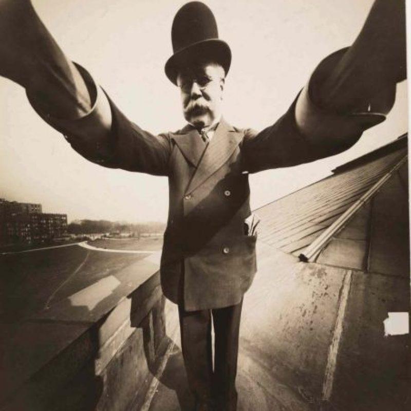 Joseph Byron en 1909. Foto:Wikipedia