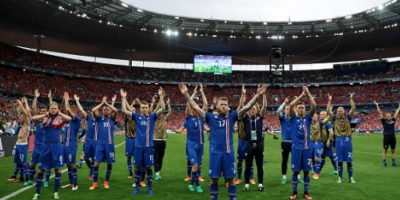Islandia sorprende y avanza a octavos de final de la Eurocopa Foto:Getty Images