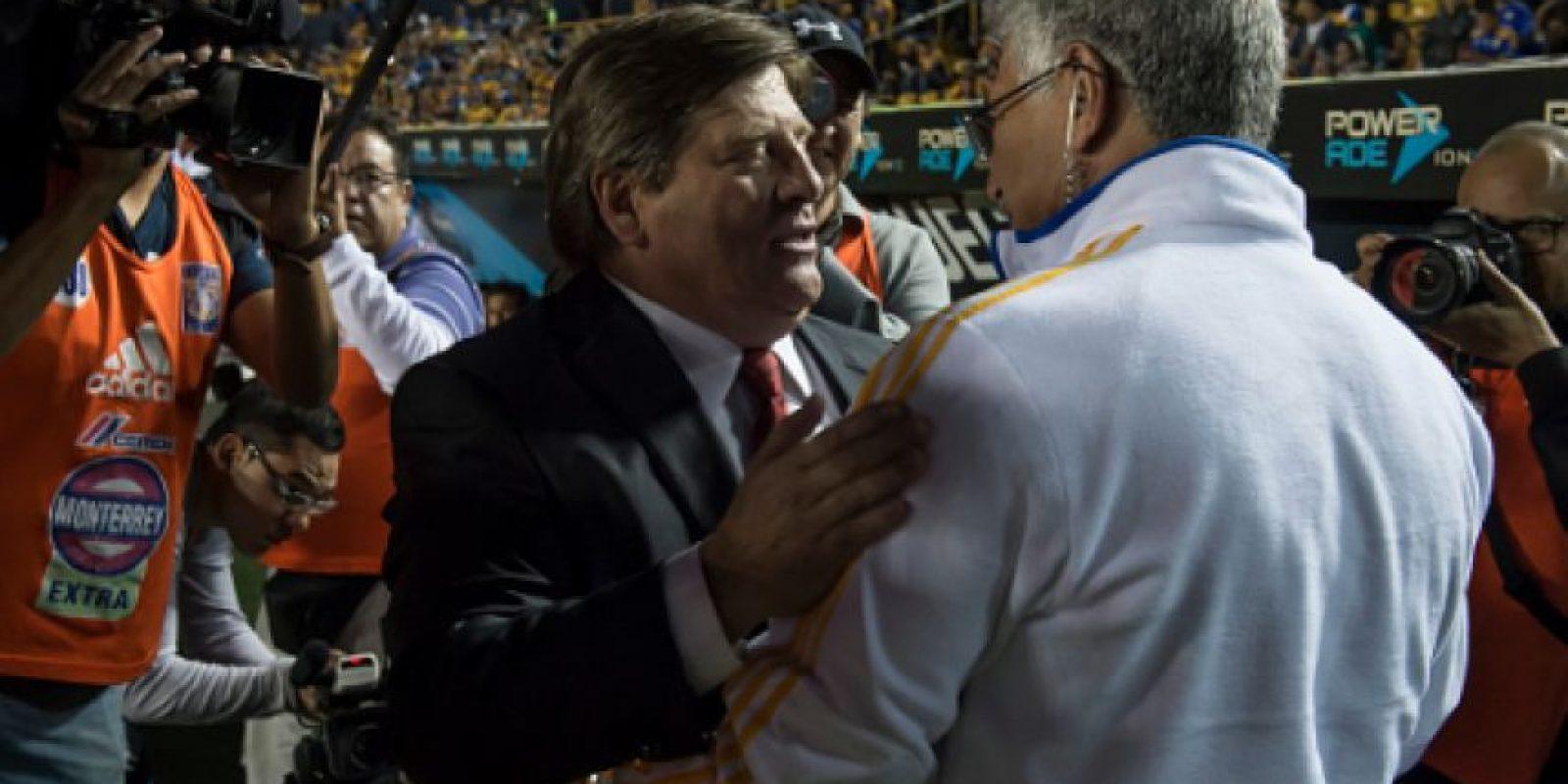 Miguel Herrera es candidato para dirigir a Paraguay Foto:Getty Images