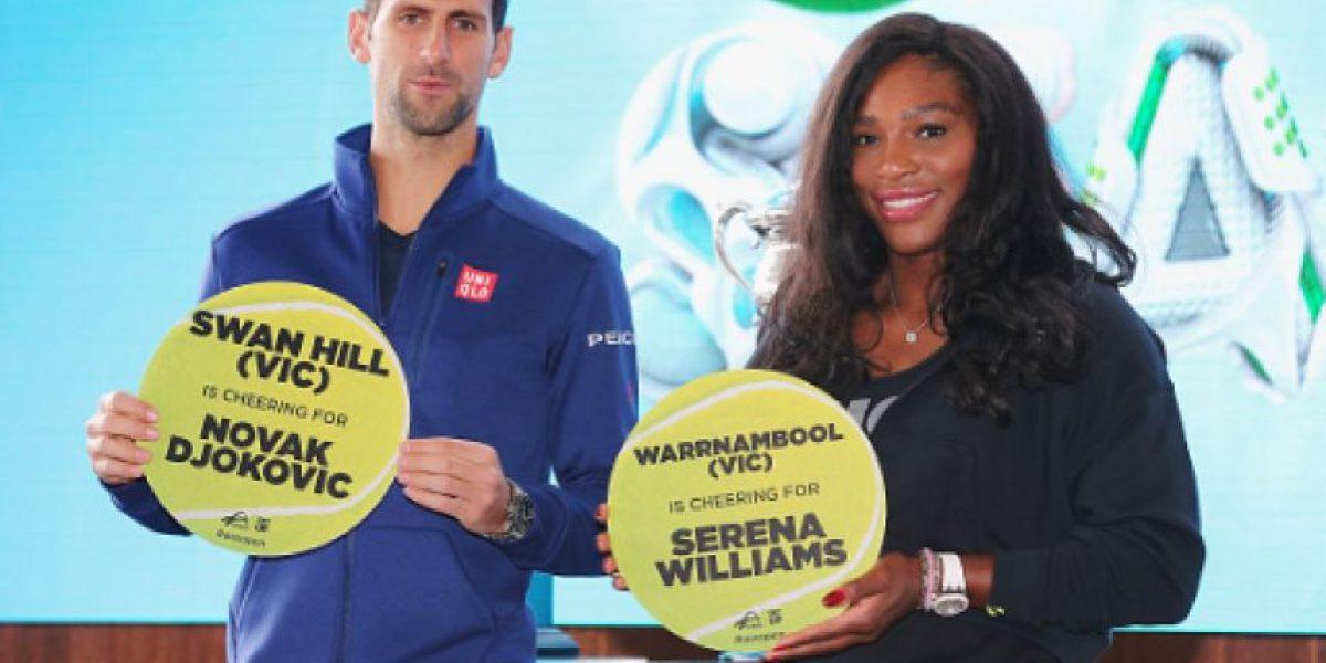 Djokovic y Serena son cabezas de serie para Wimbledon