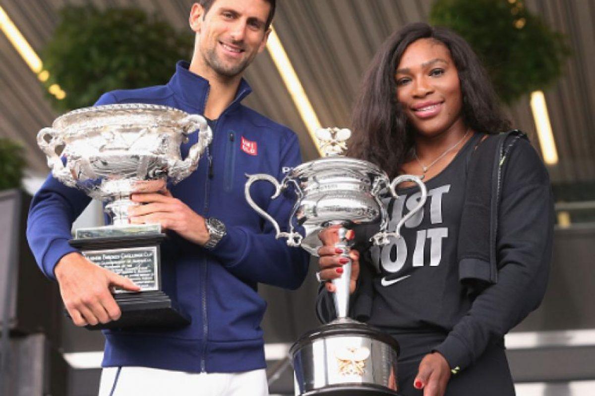 Novak Djokovic y Serena Williams son cabezas de serie en Wimbledon Foto:Getty Images