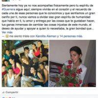 Amigos también le dijeron adiós… Foto:Facebook Yumara Ló