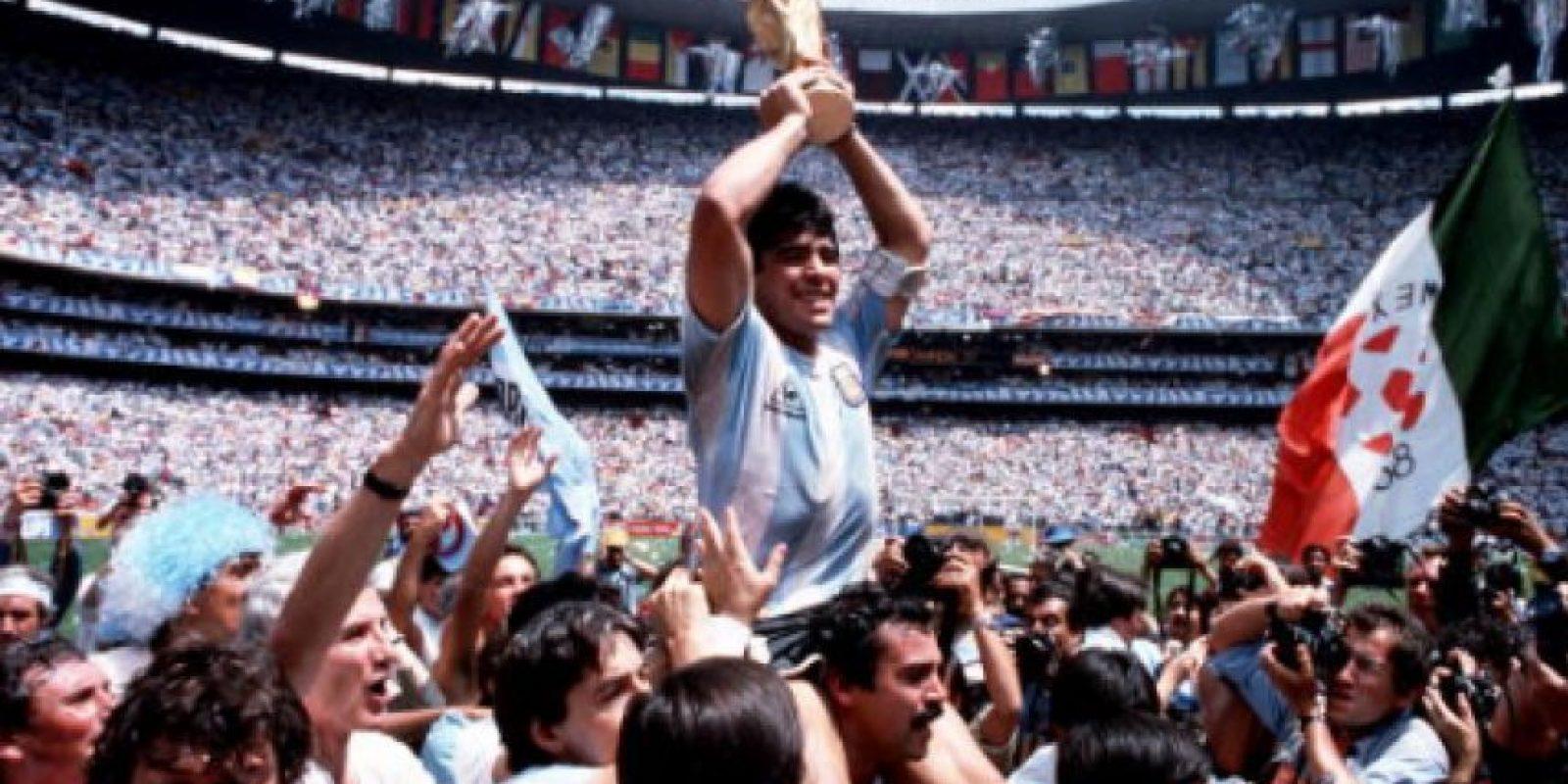 Maradona recuerda el título del Mundial de México 86 Foto:Getty Images