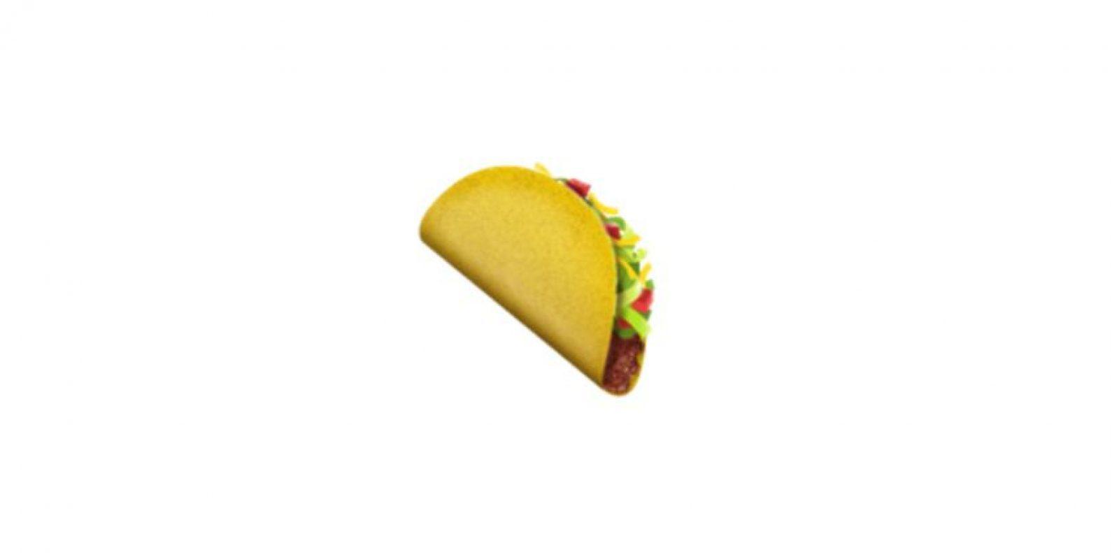 El taco fue recientemente incluido. Foto:Emojipedia