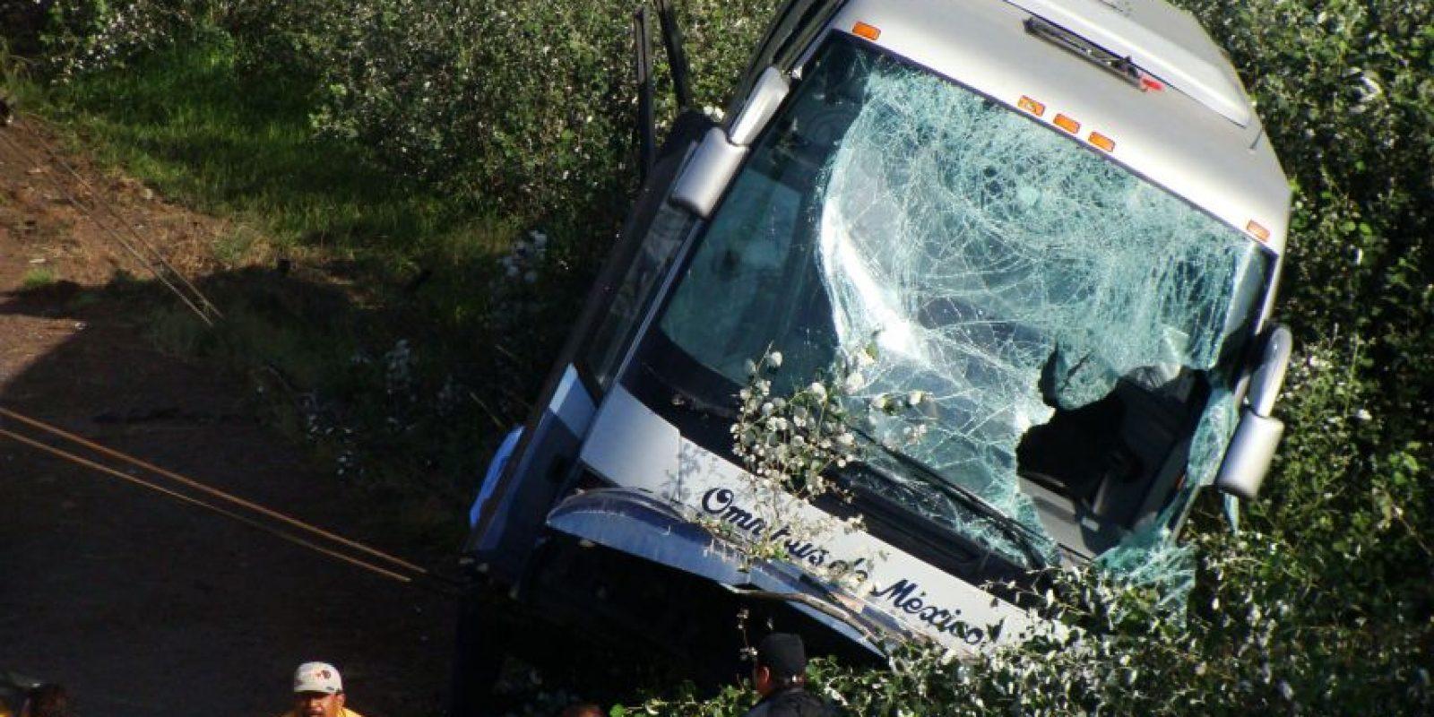 Algunos omnibuses posen cinturones de seguridad lamentablemente, no todo Foto:cuartoscuro/archivo