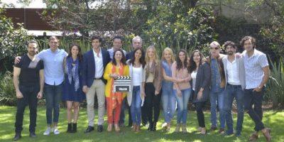 El elenco se reunió en la locación para dar inicio formal a las grabaciones Foto:JDS