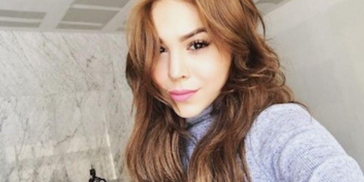 Danna Paola se casó y así lo anunció en redes sociales