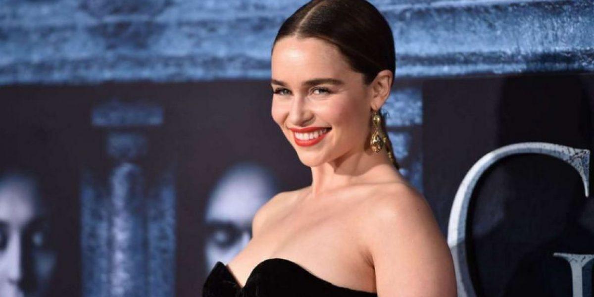 Emilia Clarke disfruta su libertad en cine y televisión