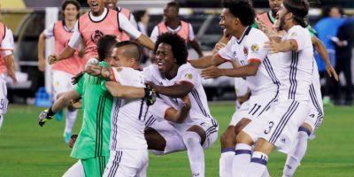 Colombia avanzó a semifinales tras vencer por penales a Perú Foto:Getty Images
