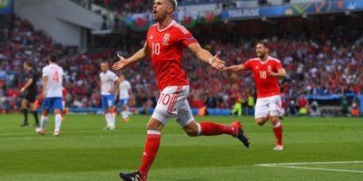 Gales fue otra de las sorpresas y en su debut avanzó como ganador del Grupo B Foto:Getty Images