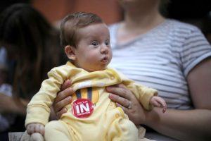 En el que pidieron la permanencia en la Unión Europea Foto:Getty Images