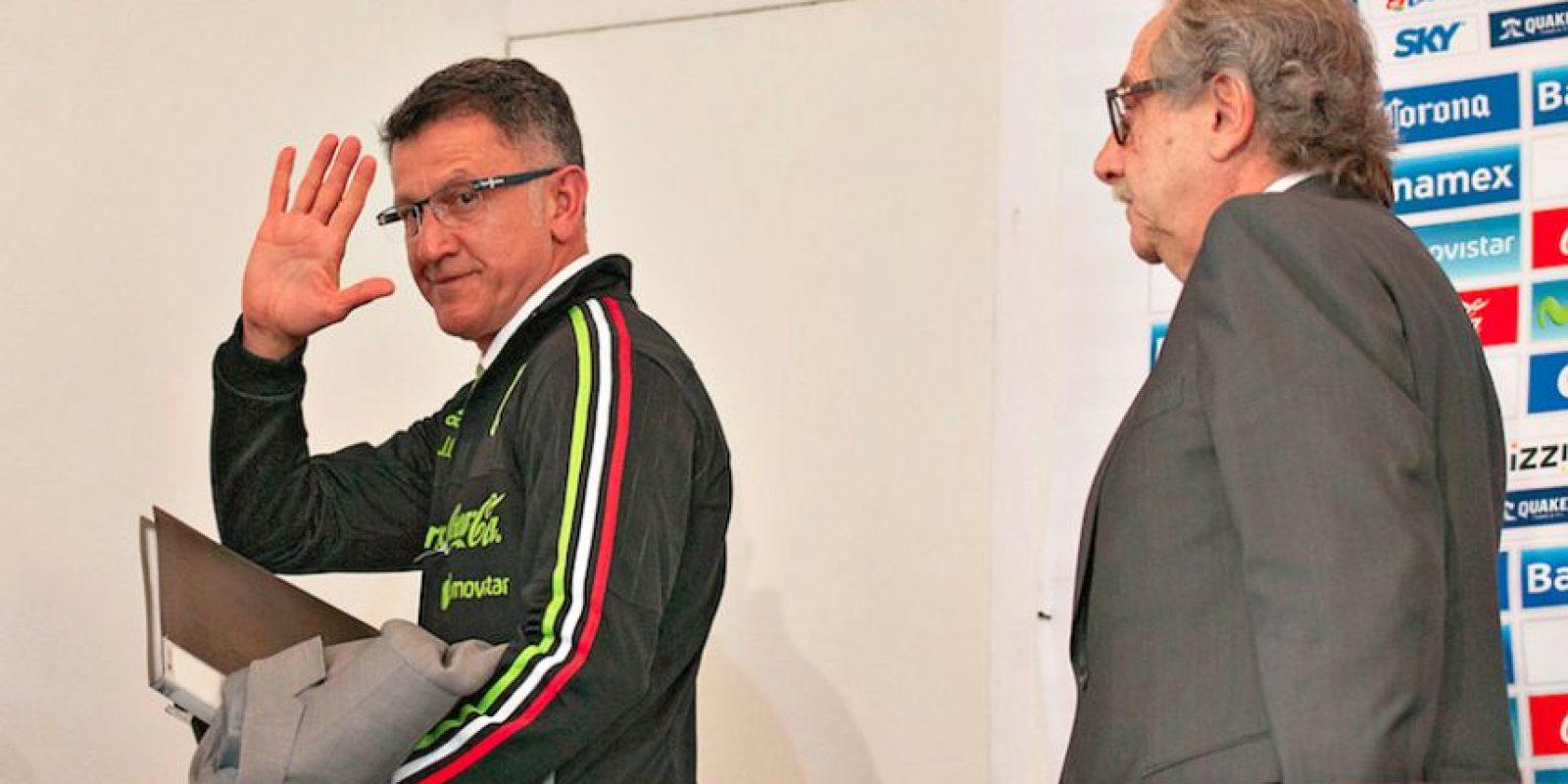 Juan Carlos Osorio seguiría al frente de la Selección Mexicana Foto:Getty Images