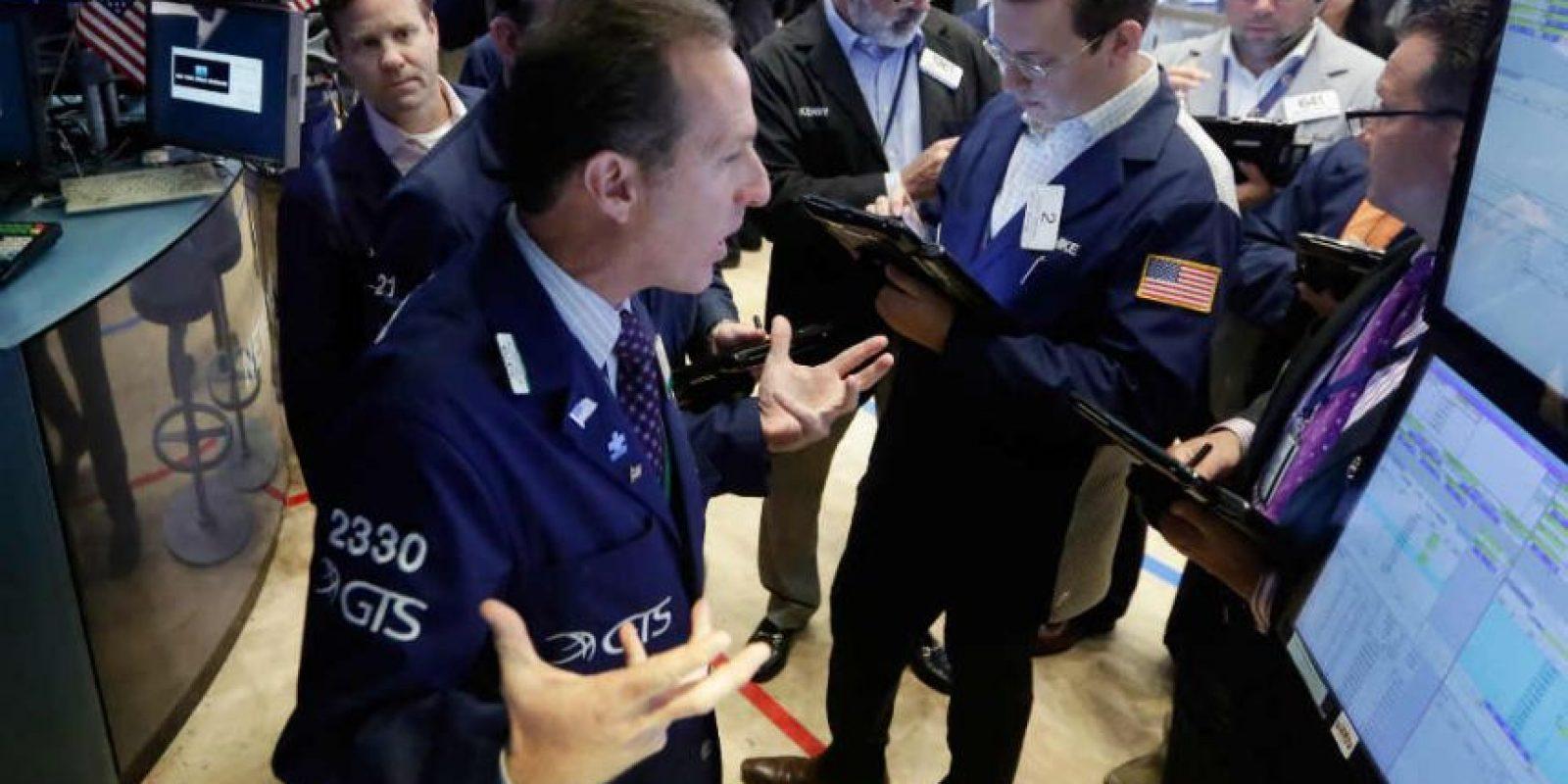 Este viernes, el Wall Street cerró con fuertes pérdidas Foto:AP
