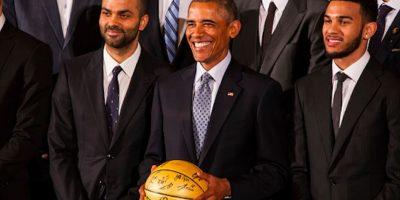 """Barack Obama es un fiel aficionado al deporte """"ráfaga"""". Foto:Getty Images"""