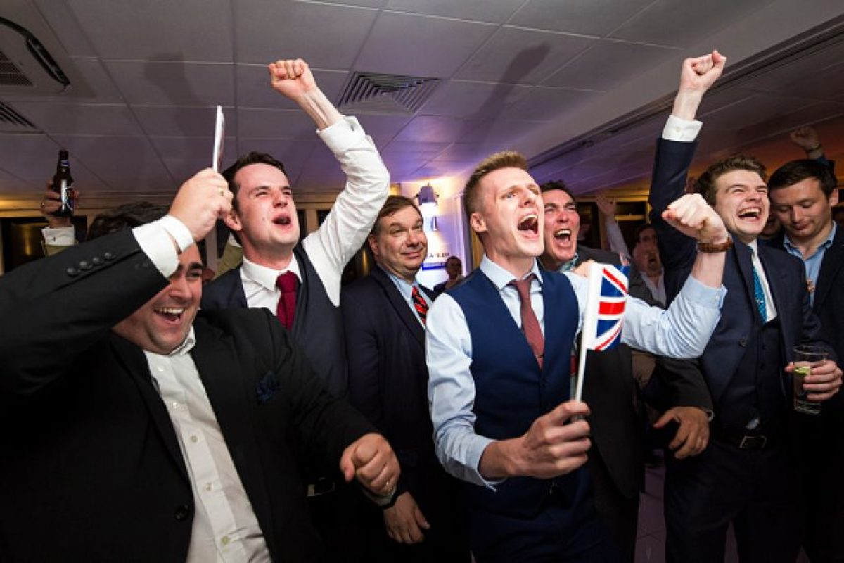 Las reacciones tras el triunfo del Brexit Foto:Getty Images