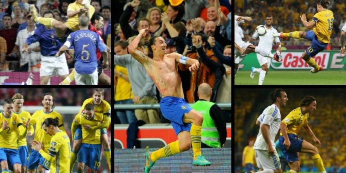 Los 5 mejores goles de Zlatan Ibrahimovic con Suecia