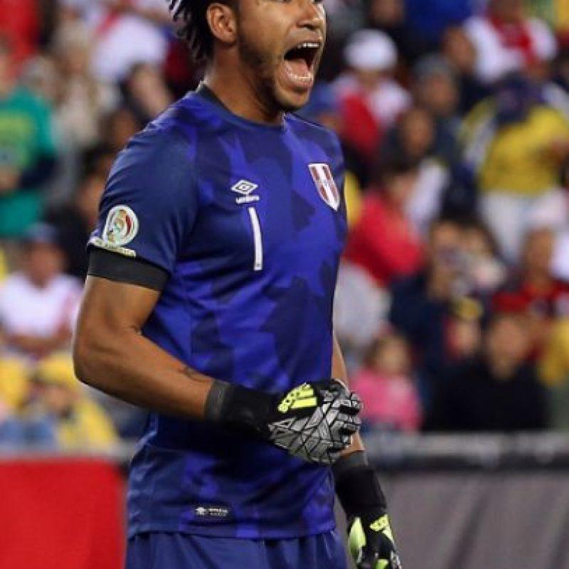 Pedro Gallese fue amenazado para fichar con Veracruz Foto:Getty Images
