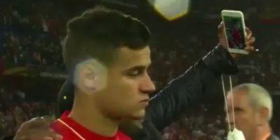 Coutinho después de perder la última final de la Europa League con el Liverpool